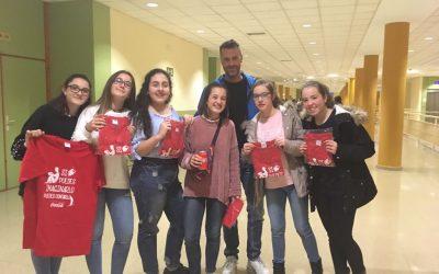 Nuestras alumnas de 2º de ESO en la Universidad de Jaén