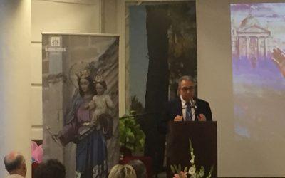 Segundo Pregón de las Glorias de M. Auxiliadora en Linares a cargo del profesor D. Juan Marín Garzón